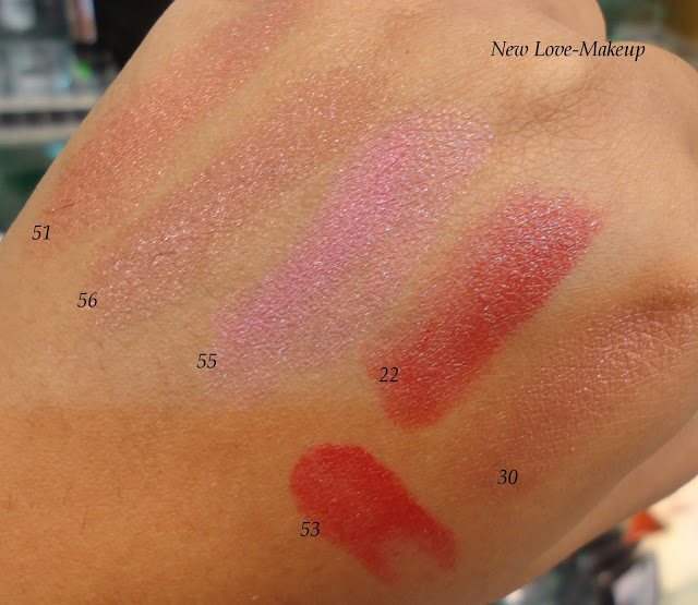 DSC05414 The Body Shop Color Glide Lipstick Swatches