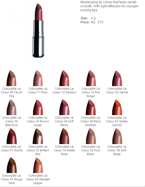 The Body Shop Color Glide Lipstick Swatches