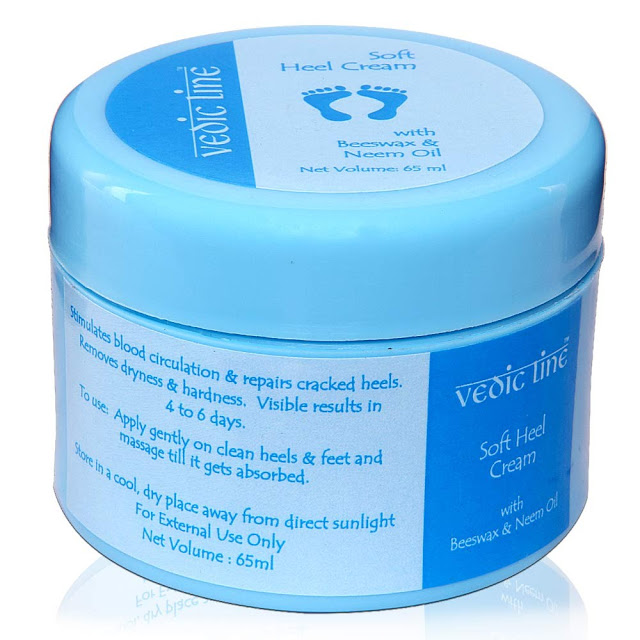 8903599001248 Vedic Line Soft Heel Cream Review