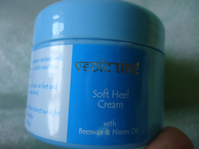 DSC07884 Vedic Line Soft Heel Cream Review