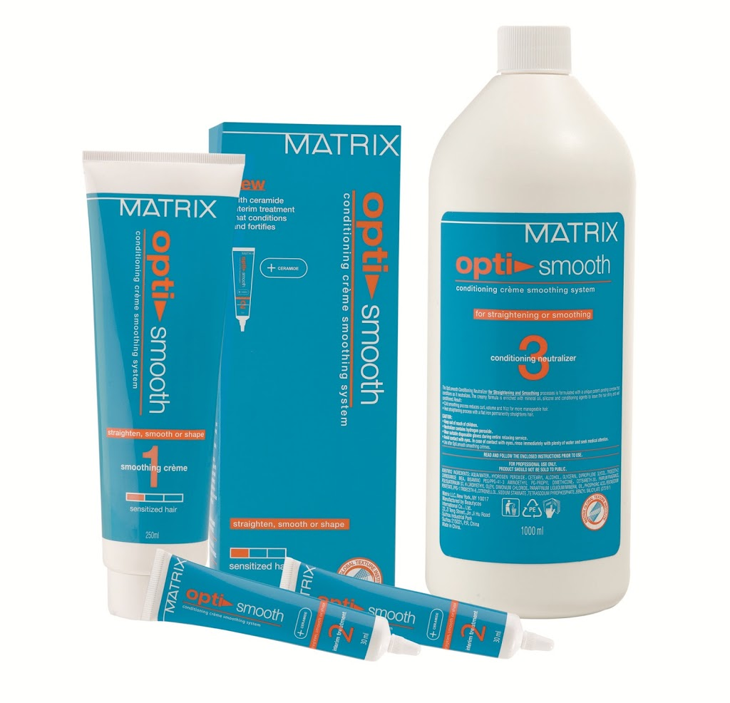 Matrix Presents The Smooth Rebond Service With Optismooth New Love Makeup