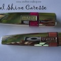 L'oreal Paris Shine Caresse Lip Colors Review, Swatches