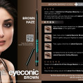 Lakme Kareena Eyeconic Brown Haze Look