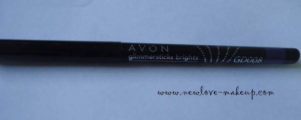 DSC00256 600x239 Avon Glimmersticks Ultra Brights Eyeliner Purple Punch Review, Swatches, EOTD