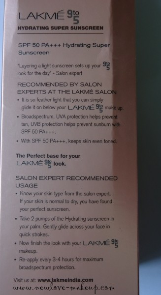 DSC00472 327x600 Lakme 9 to 5 Super Sunscreens Review