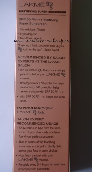 DSC004791 322x600 Lakme 9 to 5 Super Sunscreens Review