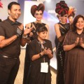 Lakmé Salon Presented 'Show Stopping Hair' Collection Styled by Little Shilpa @ Lakmé Fashion Week Winter/Festive 2014