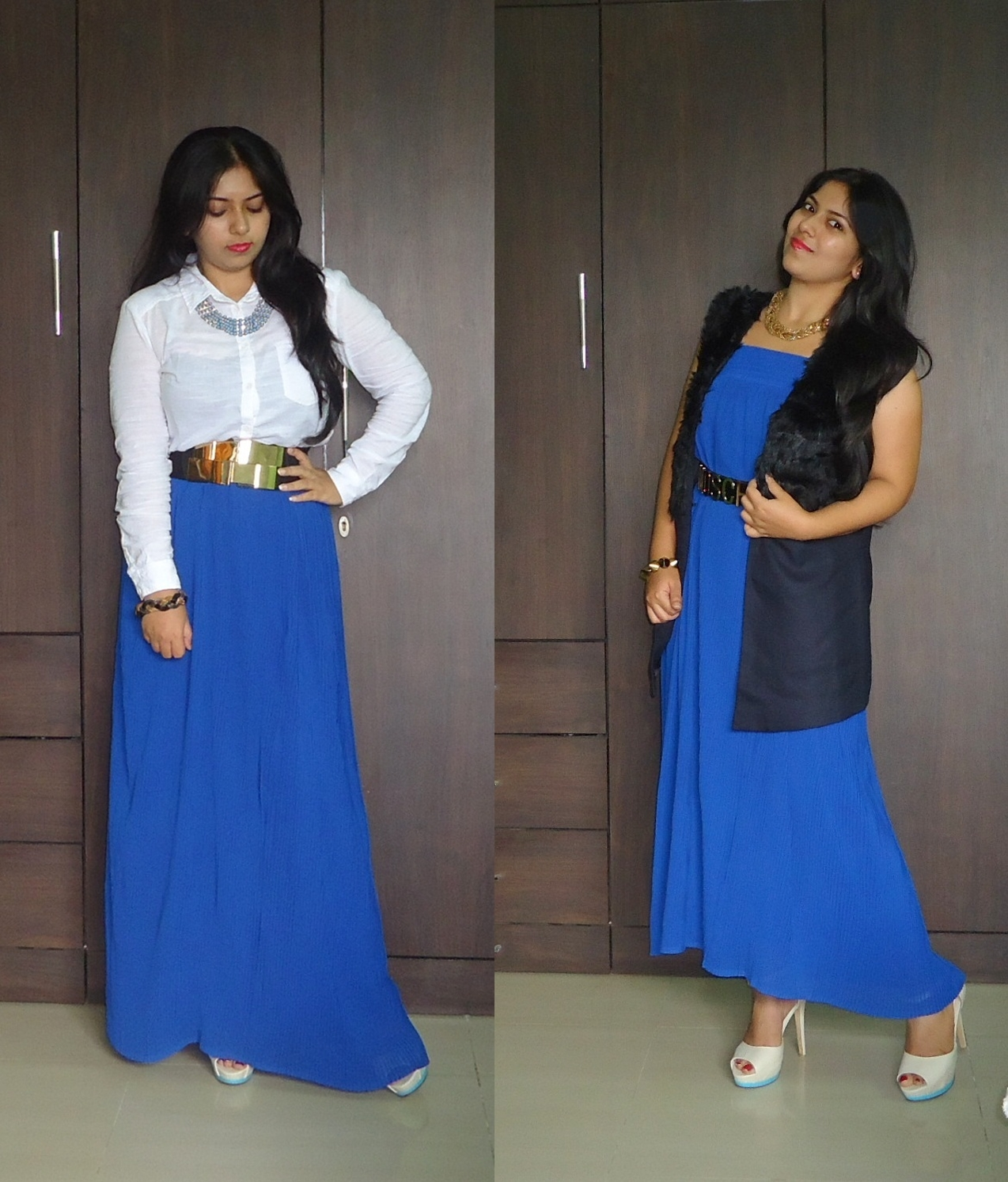 Ootd Maxi Skirt Two Ways New Love Makeup