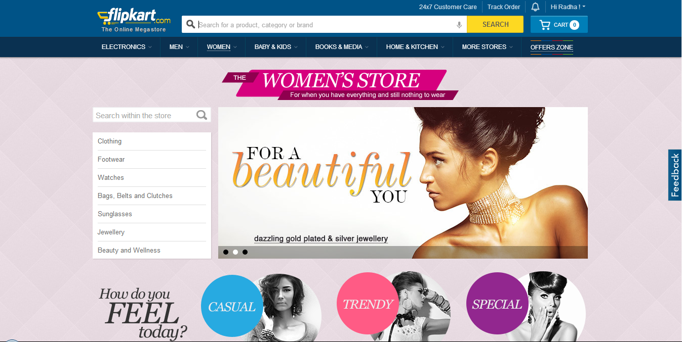 Online shopping cosmetics in india