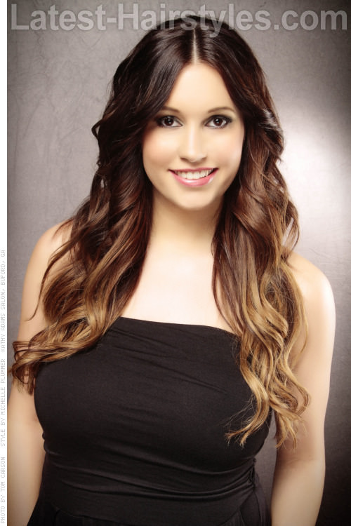 Ombre highlights in black hair hairs picture gallery ombre highlights in black hair pictures pmusecretfo Images