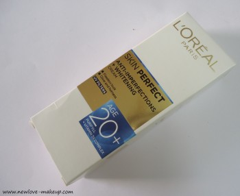 L'Oreal Paris Skin Perfect Cream Age 20+ Review, L'Oreal Paris India, Skin Care, Indian Beauty Blog
