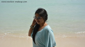 OOTD: Born on the Beach, Indian Fashion Blog, Andamans, Havelock, Beach Holiday Outfit