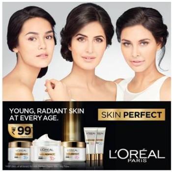 L'Oreal Paris Skin Perfect Range- Age 20+, Age 30+, Age 40+, Indian Beauty Blog, Skin Care