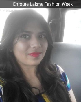 CarSelfie from yesterday while going to LakmeFashionWeek This is fromhellip