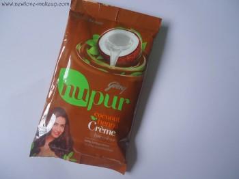 Godrej Nupur Coconut Heena Creme Colour Review,Demo