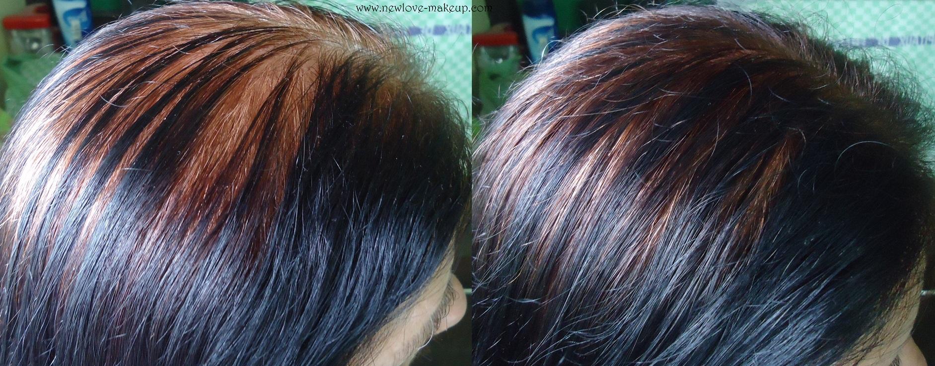 Godrej Nupur Coconut Henna Creme Colour Review Demo New Love Makeup