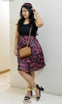 OOTD: Roses in Galaxy, Indian Fashion Blog, Outfit of the Day, Fashion Blogger