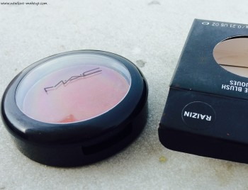 Mac Matte Blush Raizin Review, Swatches, FOTD & Dupes, Indian Makeup & Beauty Blog, MAC Blushes
