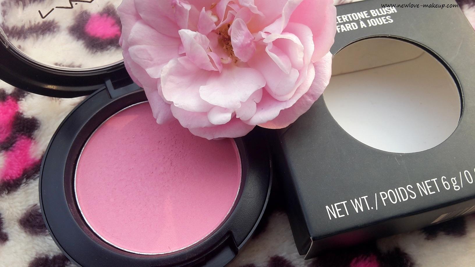 mac pink swoon blush swatch