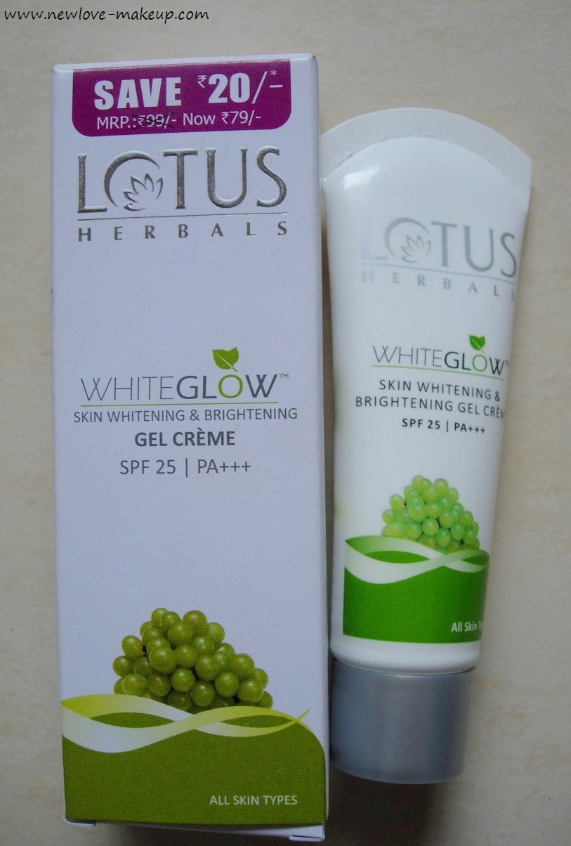 Lotus Herbals WhiteGlow Skin Whitening & Brightening Gel ...