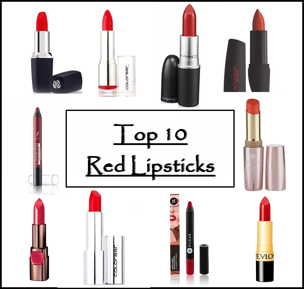 Top 10 Matte Red Lipsticks for Indian Skin, Prices, Buy Online ...