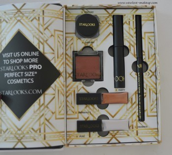 Starlooks December 2015 Extraordinaire Kit Review, Products