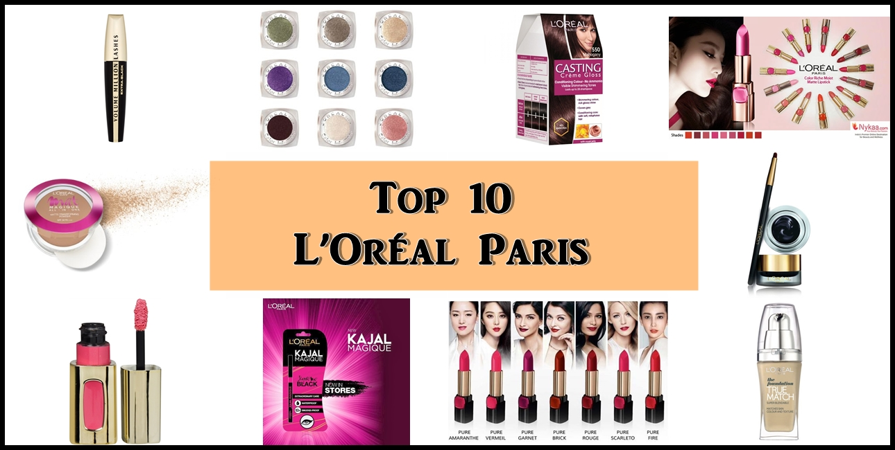 Top 10 L'Oreal Paris Products in India, Prices, Buy Online – New ...