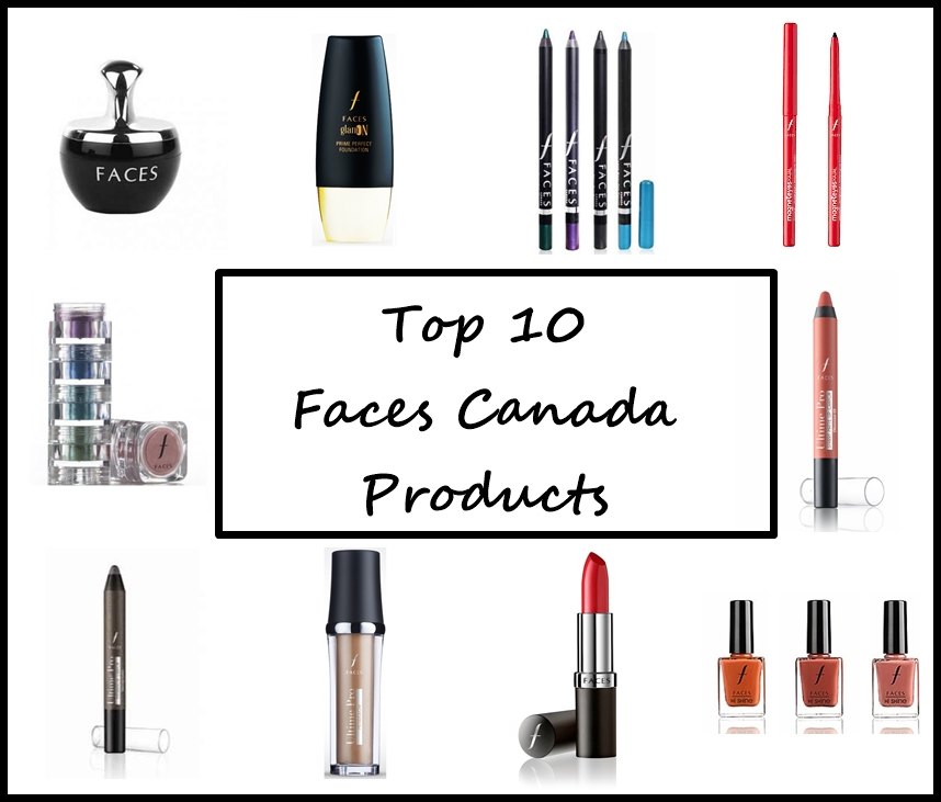 Top 10 Faces Cosmetics Products In