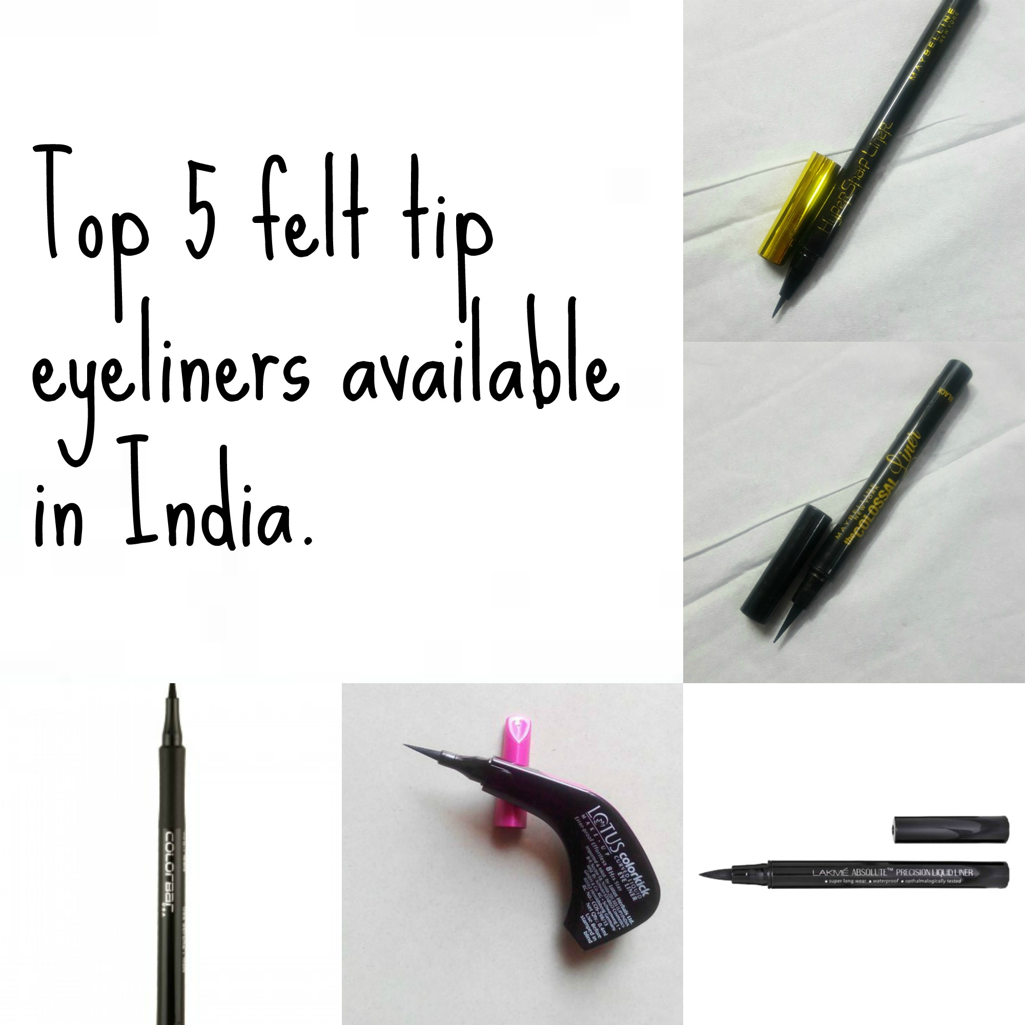 Top 5 Felt Tip Pen Eyeliners In India Prices Buy Online New Maybelline Hyper Sharp Wing Eyeliner