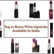 Top 10 Berry/Wine Lipsticks Available In India, Prices, Buy Online, Indian Makeup Blog, Indian Beauty Blog