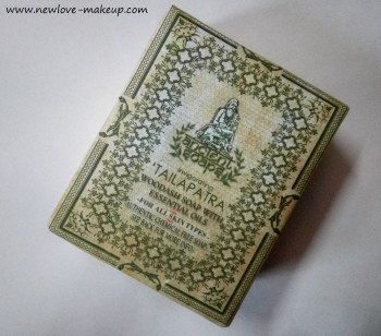 Ancient Ayurveda Invigorating Tailpatra Woodash Soap Review, Indian Beauty Blog, Indian Skincare Blog
