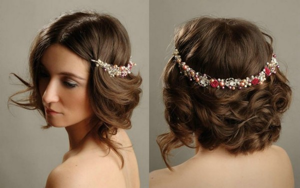 Indian Wedding Hairstyles For Short Hair Google Search Bridal