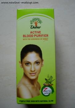 Dabur Active Blood Purifier Review, Indian Beauty Blog