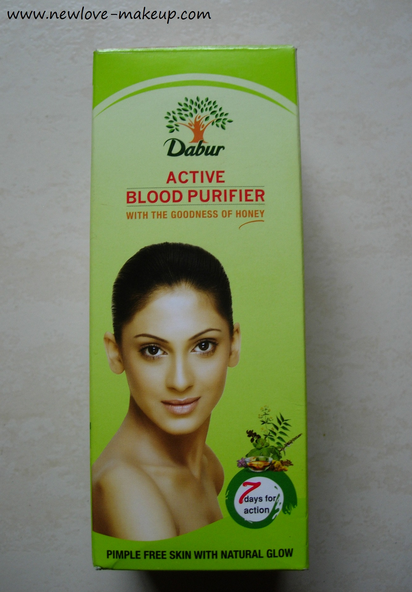 Dabur Active Blood Purifier Review | New Love - Makeup