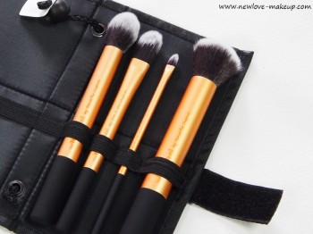 Real Techniques Core Collection Brush Set Review, Indian Makeup Blog