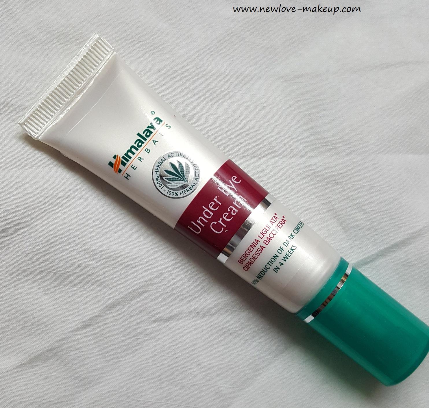 Himalaya Herbals Under Eye Cream Review New Love Makeup
