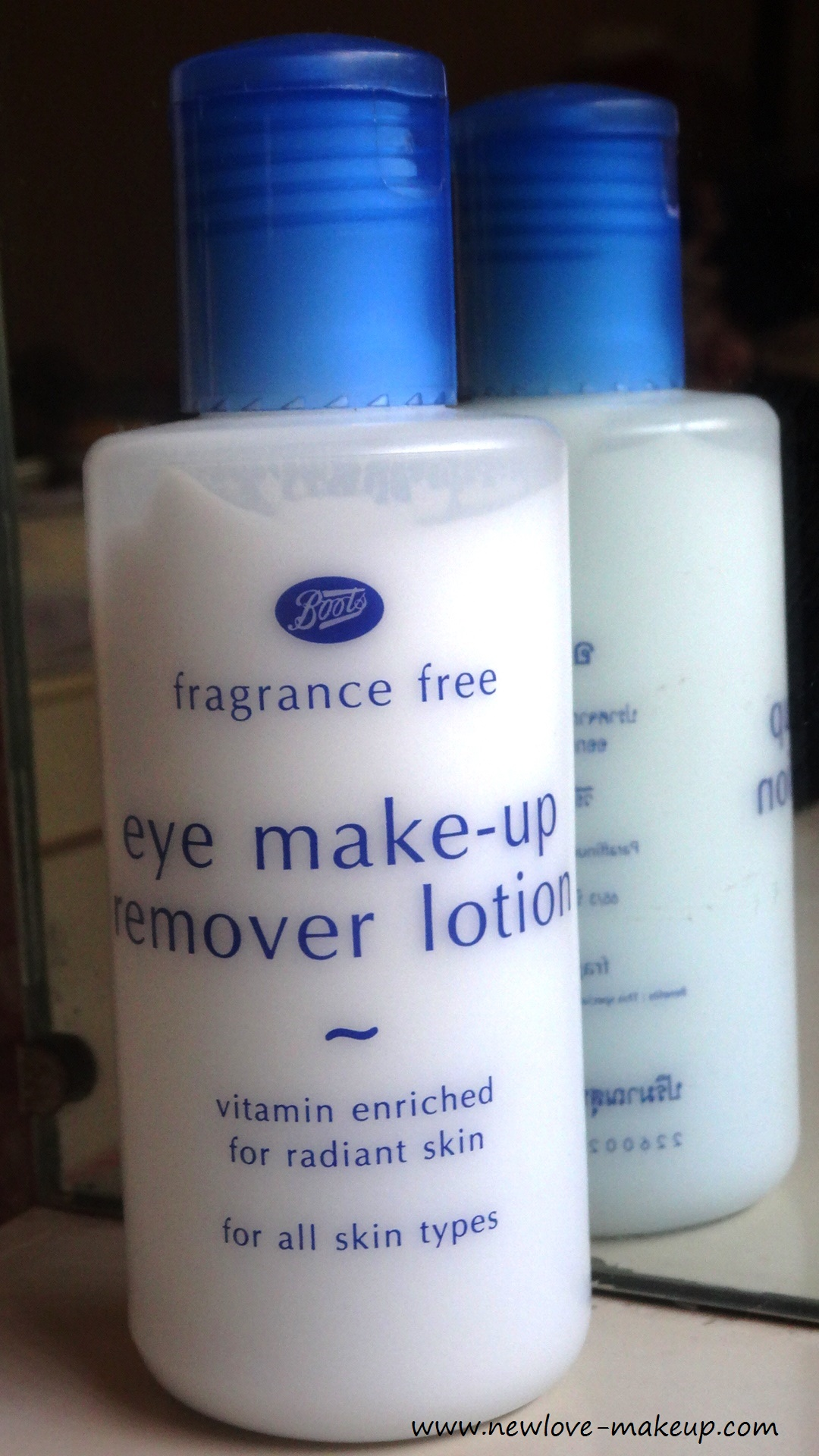 Boots eye makeup remover
