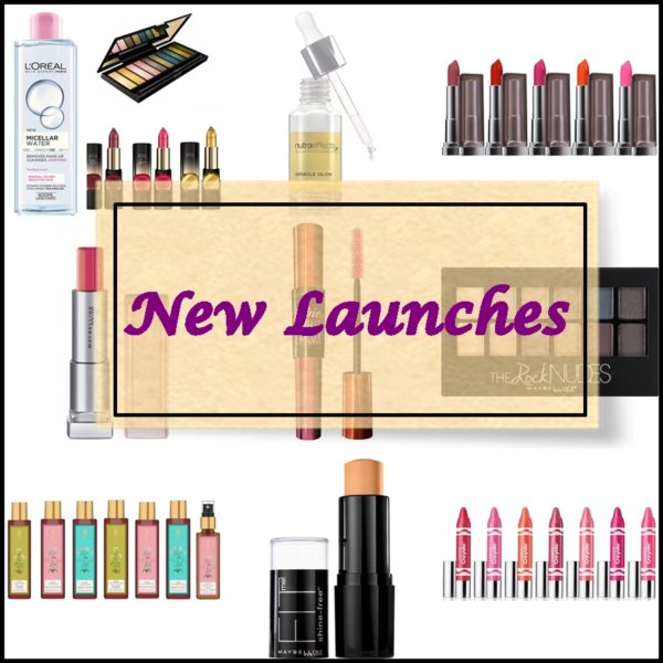 All New Makeup & Beauty Launches in India, Prices, Shades